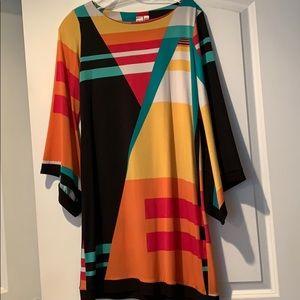 Ladies Block Print Dress